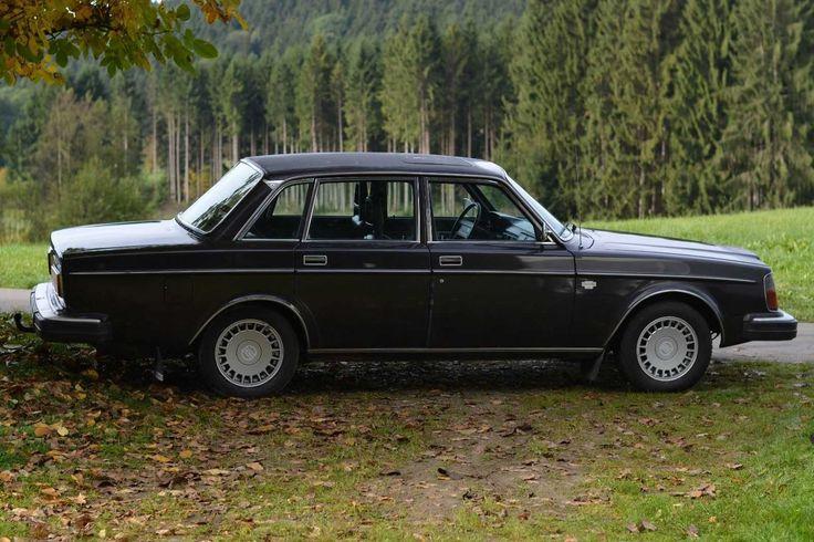 Oldtimer Volvo 264 2,7 6 Zylinder mit neuem TÜV und neuer H - Zulassung Leder