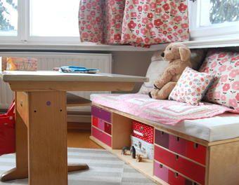 Perfect Kindersitzbank mit Stauraum Stauraum Kinderzimmer Sitzbank Schubladenbank