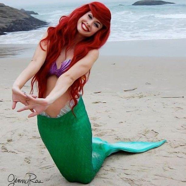 Little mermaid costume naked — pic 9