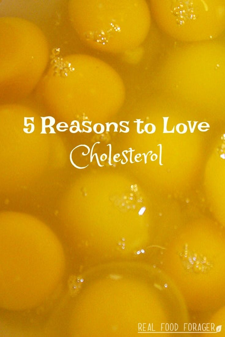 5 Reasons to Love Cholesterol. Cholesterol is a healing food and necessary for optimum health!