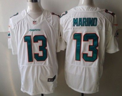new concept 1321d bd82c nike miami dolphins 13 dan marino lights out gray elite jersey