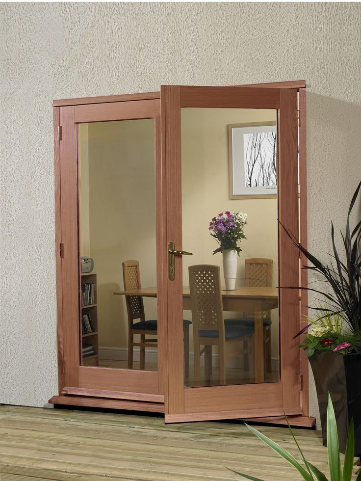 Hardwood 4ft La Porte French Doors Unfinished #hardwooddoors