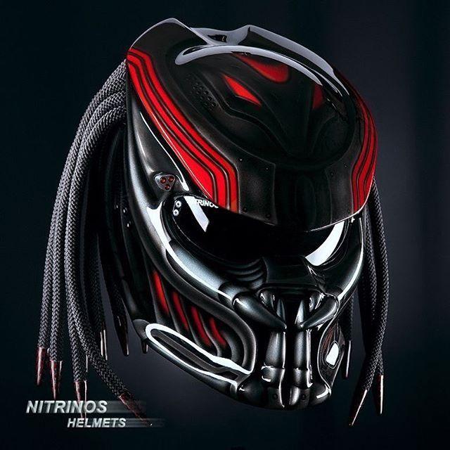 Can you see yourself rocking this helmet? #predator #helmet #helmets #bike #bikelife #motorcycle #motorcyclelife #nitrinos