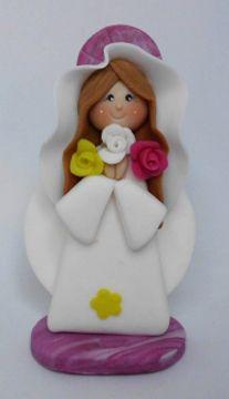 Virgen de Rosa Mistica
