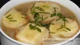 Sýrové krutony do polévky