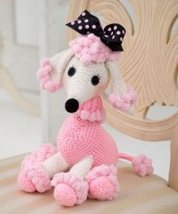 Marvelous Poodles to Knit and Crochet – free patterns