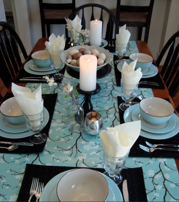 15 best Stylish Easter Table Settings images on Pinterest ...