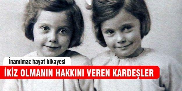 İkizler ayrılmamak için hiç evlenmedi! http://www.haberinadresi.com/