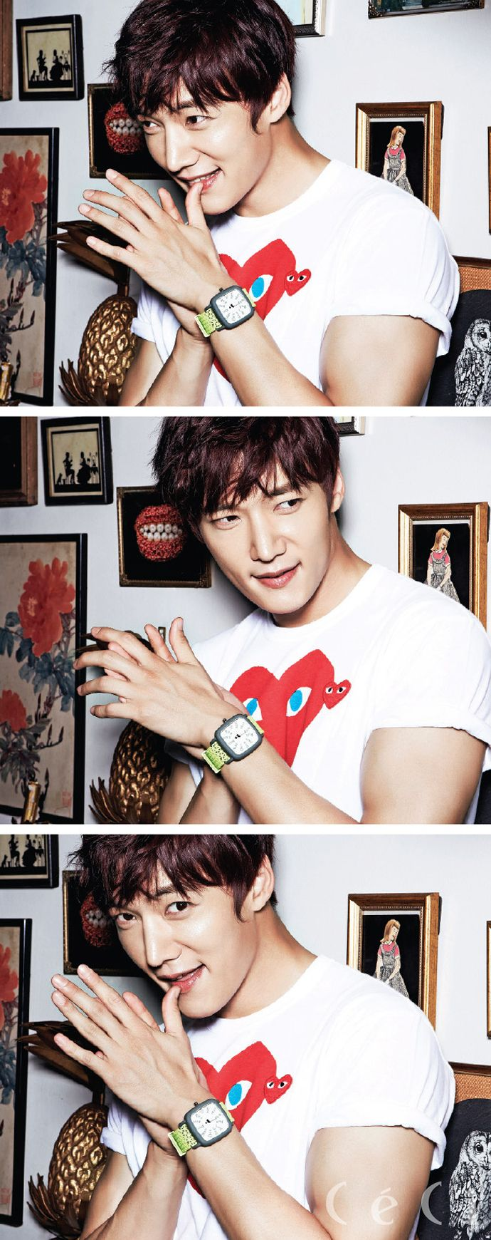 More of Choi Jin Hyuk for CéCi's August 2014 Issue | Couch Kimchi