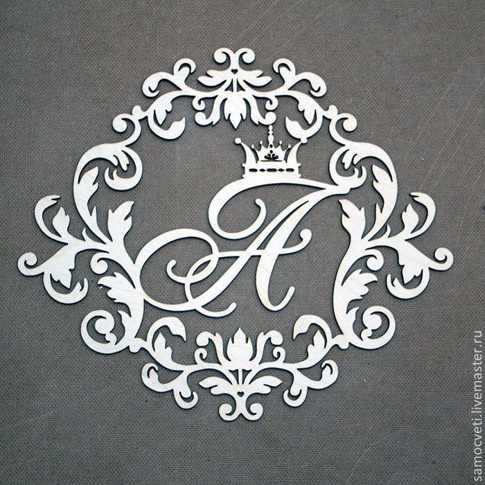 Изготовление на заказ семейный герб, монограмма, вензель с инициалами