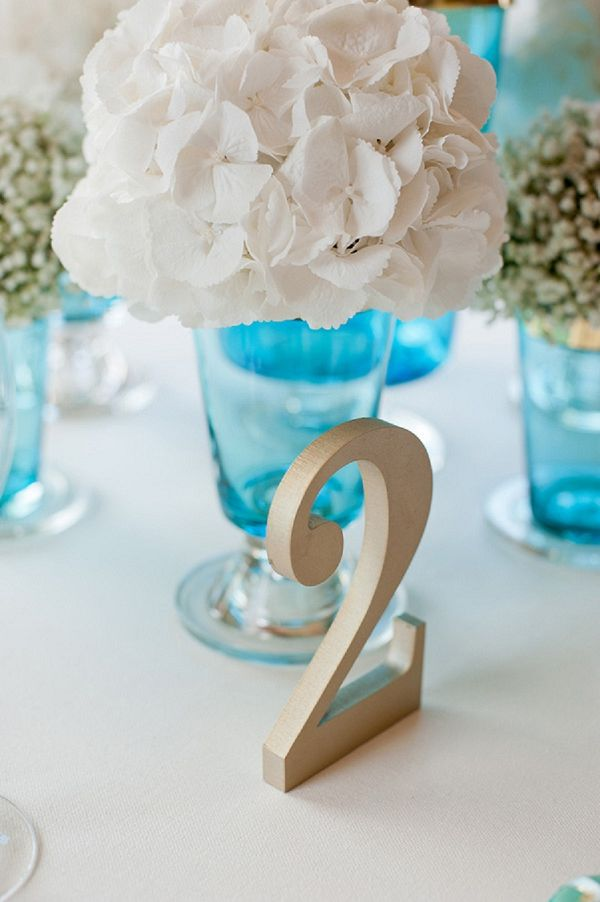 gold table number // luxe teal & gold // fiona kelly photography // linen & silk weddings