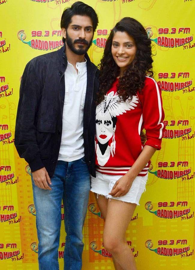 Harshvardhan Kapoor and Saiyami Kher promoting #Mirzya. #Bollywood #Fashion #Style #Beauty #Hot #Sexy