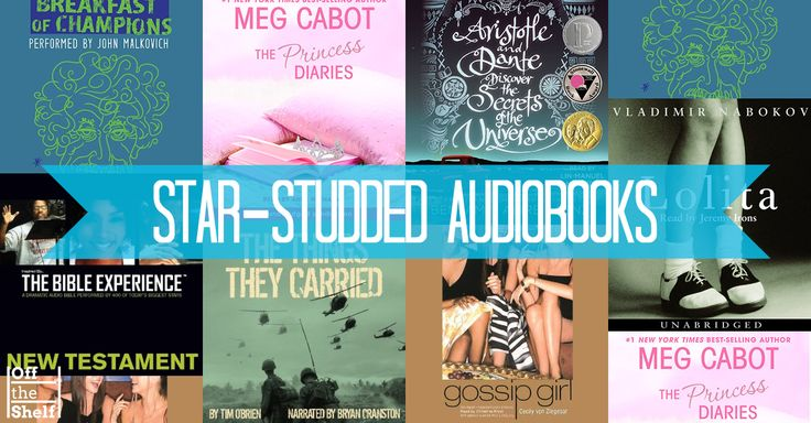 Hearing the audiobooks of ME BEFORE YOU and GIRL ON THE TRAIN ahead of their movie releases, I was so excited to hear the words come to life as I imagined the actors in their respective roles. The audiobooks on today's list have gotten the Hollywood treatment, but in a different sense. No need to wait for them to hit the big screen, these audiobooks are read by some of the best actors of stage and screen.
