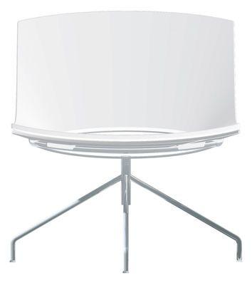Scopri Poltrona Oh! -4 piedi, Bianco di Enea, Made In Design Italia