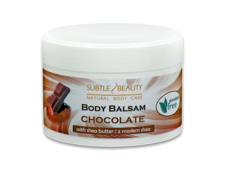 Balsam do ciała - Czekoladowy w Subtle Beauty na DaWanda.com #niezchinzpasji