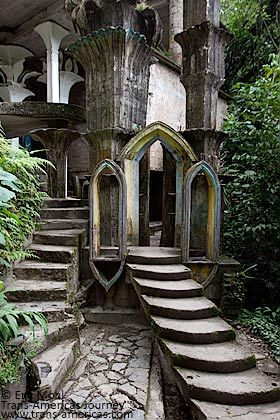 Amazing ....Las Pozas  In the Mexican rainforest is a remote mountain village…