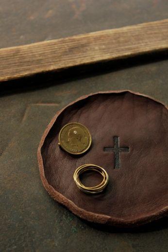 レザーコースター | Leather Coaster - Round | IRRE