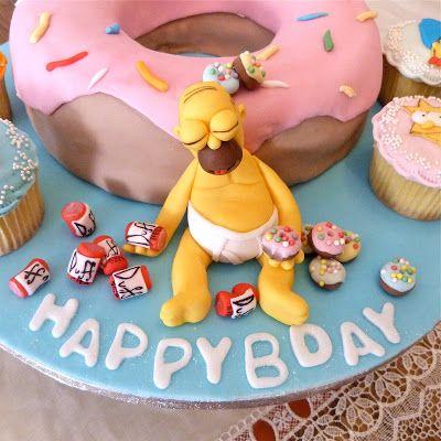 cake design homer birra - Cerca con Google
