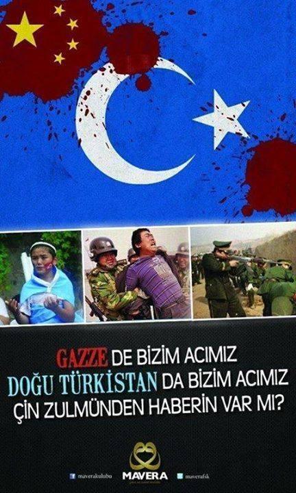 Twitter'da #doğuTürkistan etiketiyle ilgili Tweetler