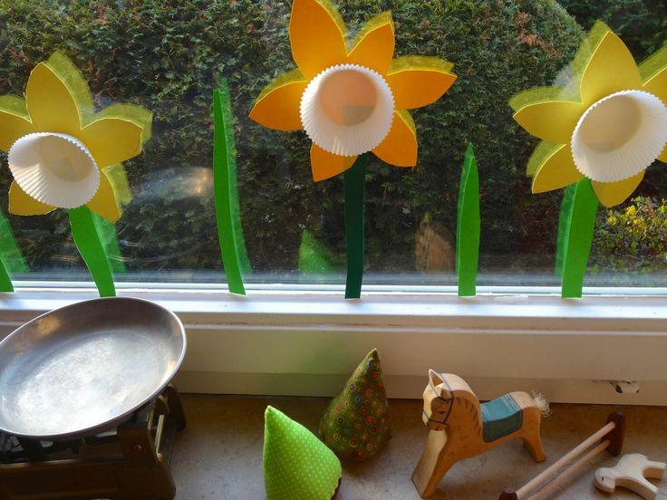 36 Besten Fensterdeko Frühling Bilder Auf Pinterest