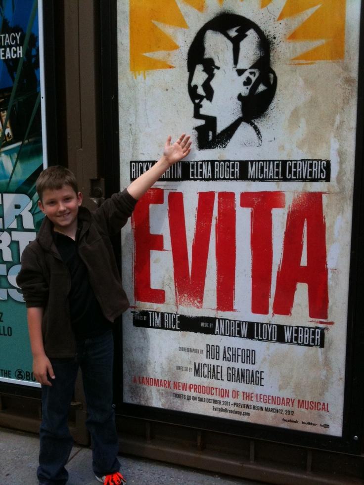 William Fergusson #Evita #MarquisTheatre #NyNewYork #AskaTicket
