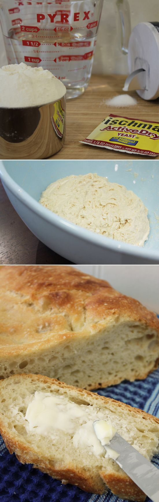 Fast No-Knead Bread: The Easiest Loaf You'll Ever Bake