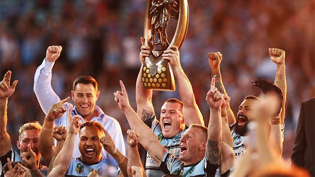 Cronulla Sharks win NRL grand final, break premiership drought - Yahoo7
