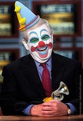 newt gingrich in clown mode.......