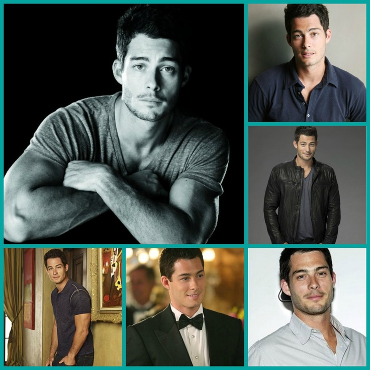 El actor estadounidense Brian Hallisay, co-protagonista en la serie ''The Client List''.
