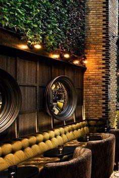 Luxurious interior design in a fantastic restaurant. Impossible don't like. #restaurantinterior #luxuryrestaurant #furniturestores #MaisonetObjet #MaisonetObjetParis #Paris #Design
