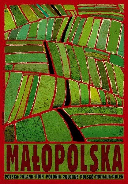 Zdjęcie numer 1 w galerii - Małopolska na plakatach znanego grafika. Jego pomysły zachwycają