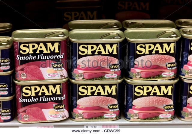 Spam Cans Stock Photos & Spam Cans Stock Images - Alamy