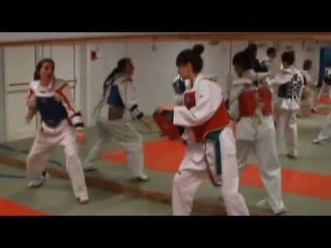Stage Taekwondo Korea Club Houdeng Belgique VS Club taekwondo Benavente ...