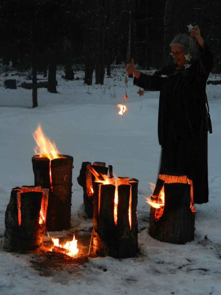 Fire for the  Winter Solstice - Celebrate the beginning of our Earths renewal.