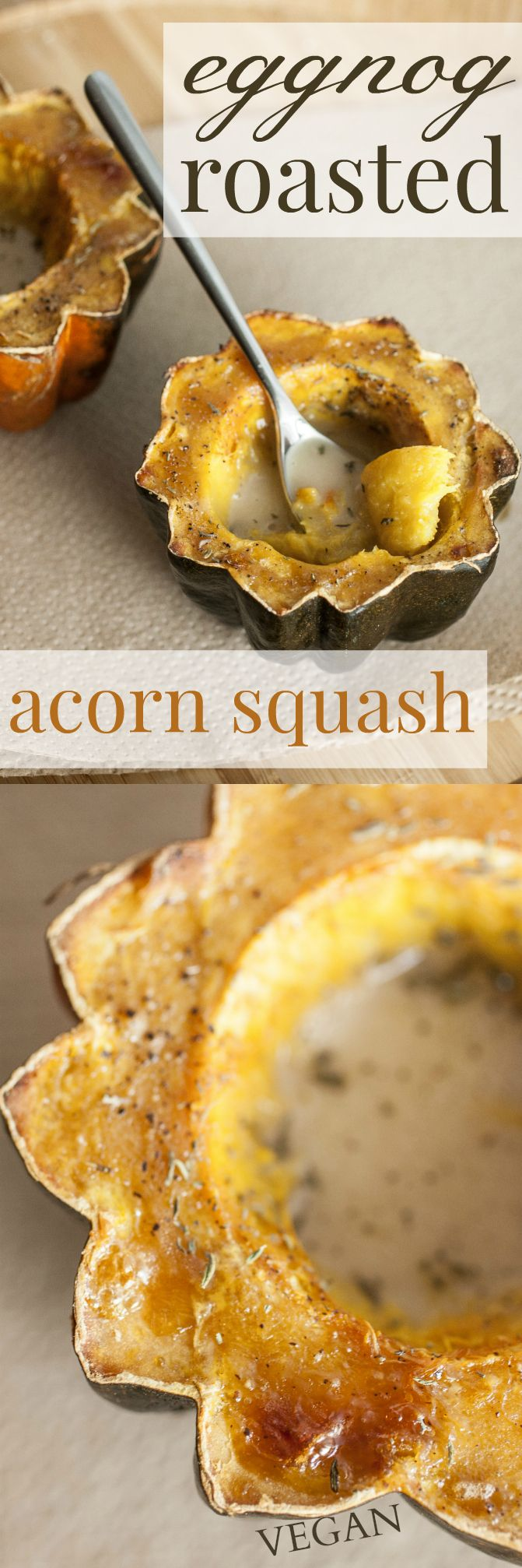 acorn squash produce on parade eggnog roasted acorn squash a delicious ...