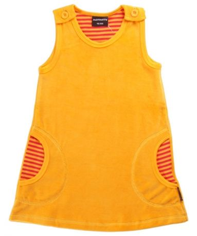 Super zacht en lief kleedje in oranje velours van Maxomorra. Leuk te combineren met de rode legging od de oranje / rood gestreepte body en legging. Neem een kijkje op http://www.ukkiesundies.be/playwear-/-homewear Nice, soft velours dress from Maxomorra fall collection
