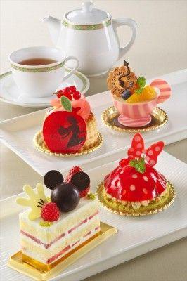 ディズニーアンバサダーホテル「チックタック・ダイナー」の可愛いケーキ