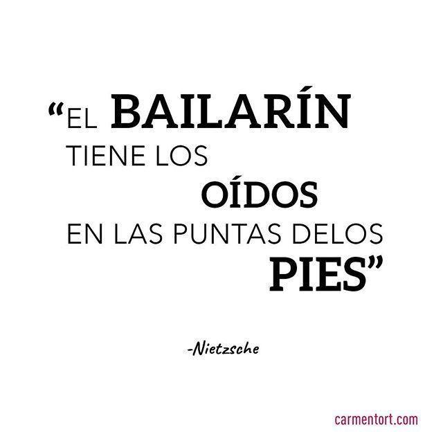 #dancequotes #bailarin #baila #nietzsche