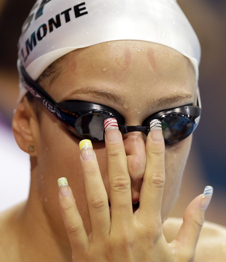 Olympics Nails: Missy Franklin, Serena Williams And More Athletes' Patriotic Manicures (PHOTOS)