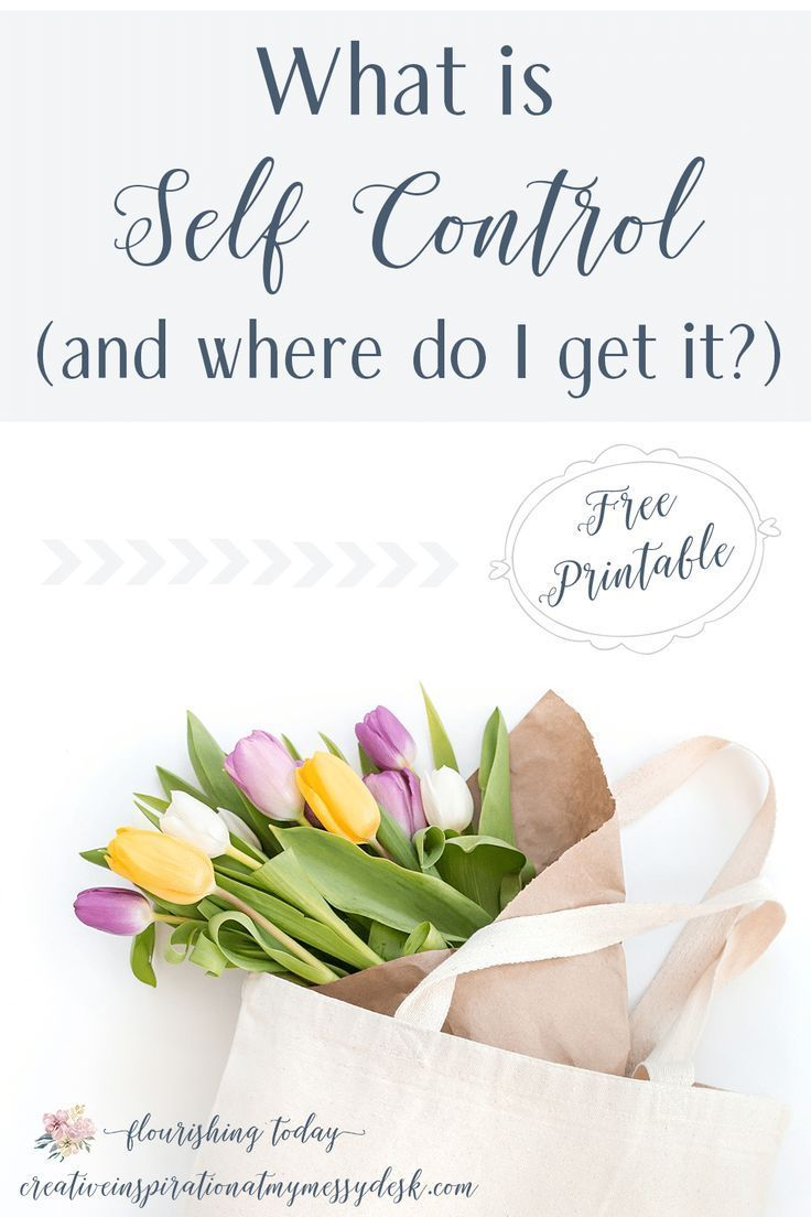 What is the definition of self control? How do we gain self control in the areas where we feel like we have no control? Today we are looking at what it means to have self control and how we can grow in it. #freeprintable #selfcontrol #bibleverses