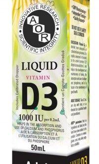Vitamin D3 Liquid - great Vitamin D supplement for Moms