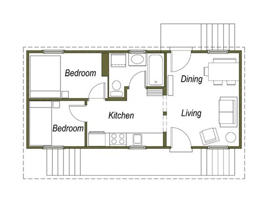 katrina cottage follow up eco architecture sustainable design and green building - Katrina Cottage Plans
