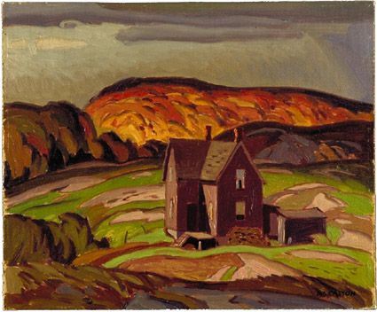 McMichael Canadian Art Collection.  All rights reserved.  Title: Old House, Parry Sound  Object Name: painting  Artist/Maker: Casson, A.J.  Latest Production Date: 1932 (uncertain)  Support: canvas on board