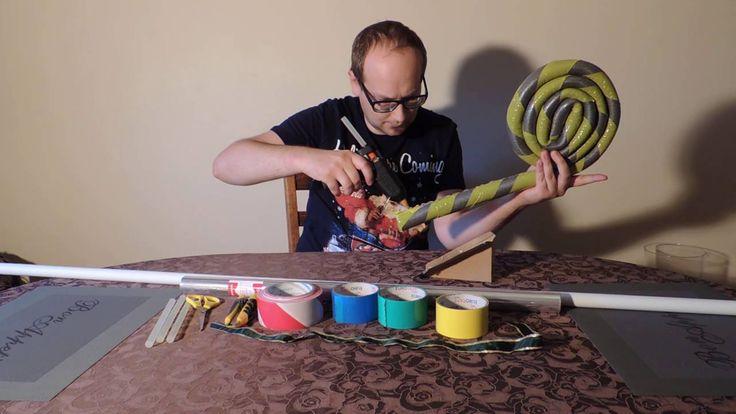 Lizak / lollipop - ozdoba własnoręczna świateczna i na urodziny DIY