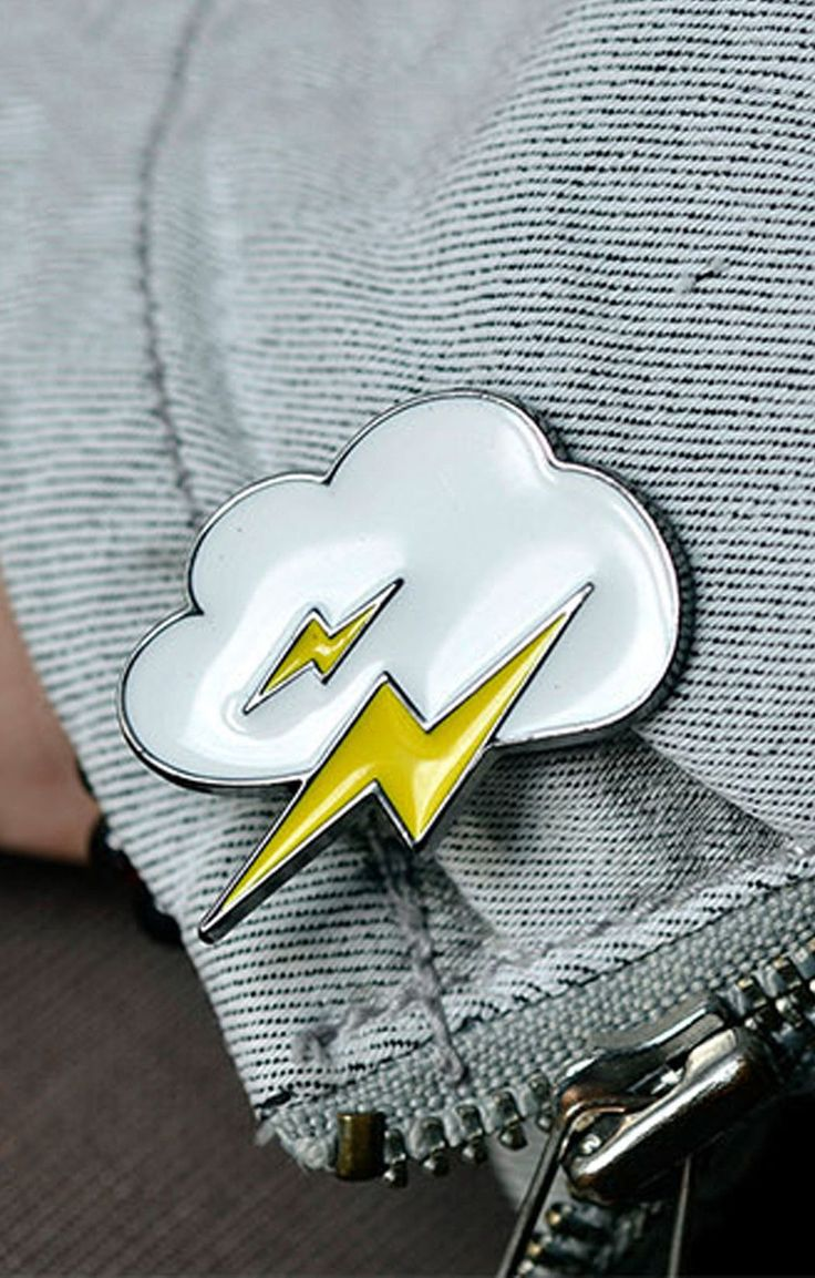 Thunder Cloud Pin - BKBT Concept  - 1
