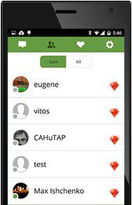 Gem - это многофункциональное мобильное приложение — мессенджер, позволяющий передавать текстовые сообщения, фото, аудио и видео файлы. Его основной функцией является возможность осуществлять бесплатные звонки высокого качества по всему миру