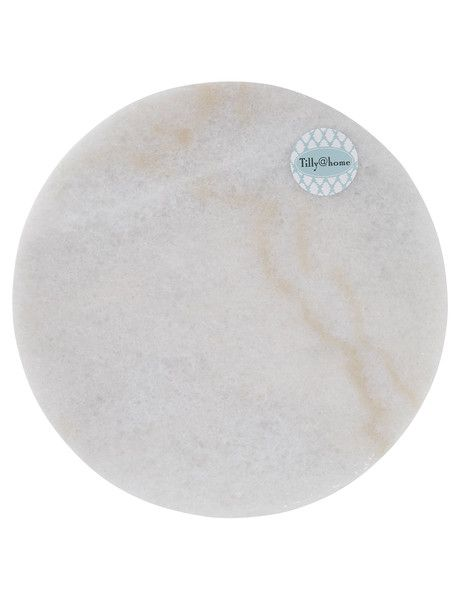 Display favourite pieces of your home decor collection on this Round Stone Tray, from the Tilly@home Eclipse range.