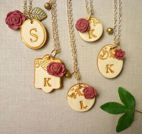 Hey, I found this really awesome Etsy listing at https://www.etsy.com/listing/88828560/bridesmaids-necklaces-romantic-vintage