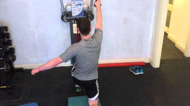 Shoulder Rehab Exercises at FTI
