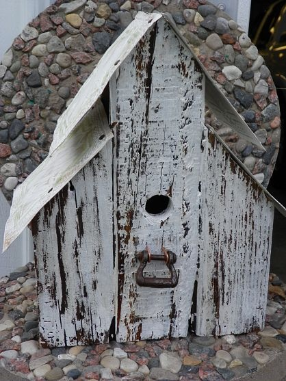 Barn Wood Bird House